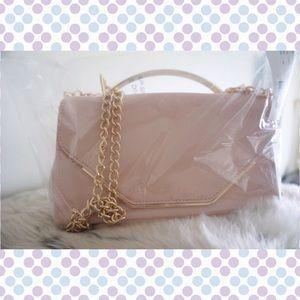 ASOS: New Look Patent Box Handle Cross Body Bag